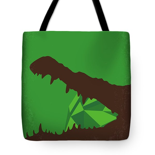 No732 My Romancing The Stone Minimal Movie Poster Tote Bag