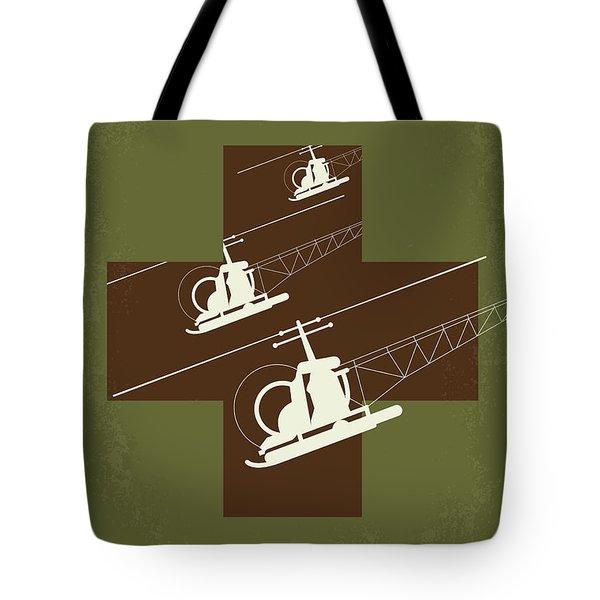 No733 My Mash Minimal Movie Poster Tote Bag