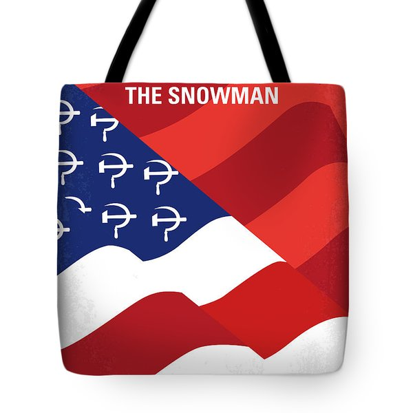 Tote Bag featuring the digital art No749 My The Falcon And The Snowman Minimal Movie Poster by Chungkong Art