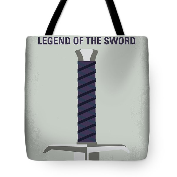 No751 My King Arthur Legend Of The Sword Minimal Movie Poster Tote Bag