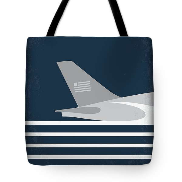 Tote Bag featuring the digital art No754 My Sully Minimal Movie Poster by Chungkong Art