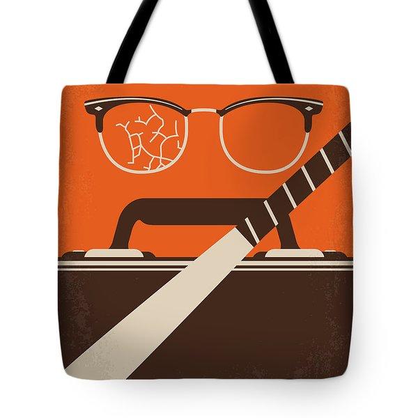 No768 My Falling Down Minimal Movie Poster Tote Bag