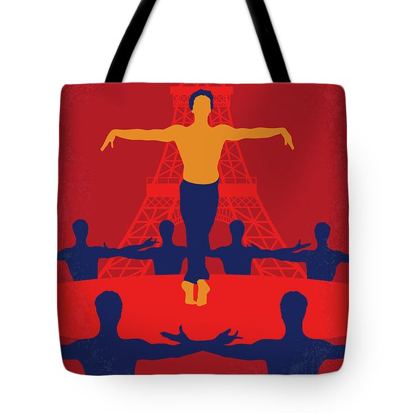 Tote Bag featuring the digital art No771 My Les Uns Et Les Autres Minimal Movie Poster by Chungkong Art