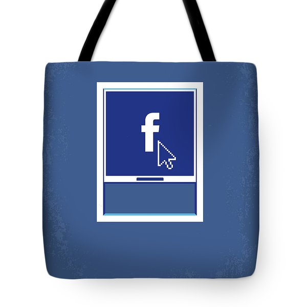 No779 My The Social Network Minimal Movie Poster Tote Bag