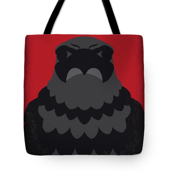 No780 My The Maltese Falcon Minimal Movie Poster Tote Bag