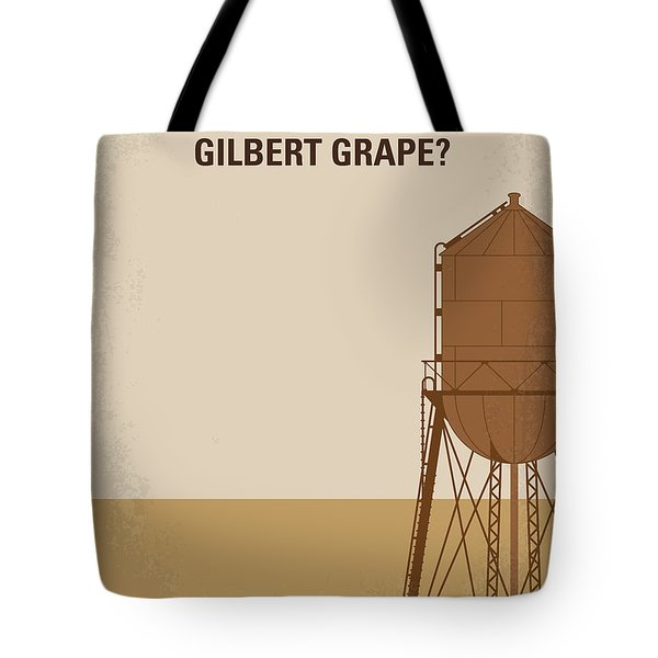 No795 My Whats Eating Gilbert Grape Minimal Movie Poster Tote Bag by Chungkong Art