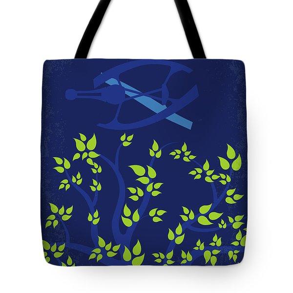 No803 My Passengers Minimal Movie Poster Tote Bag