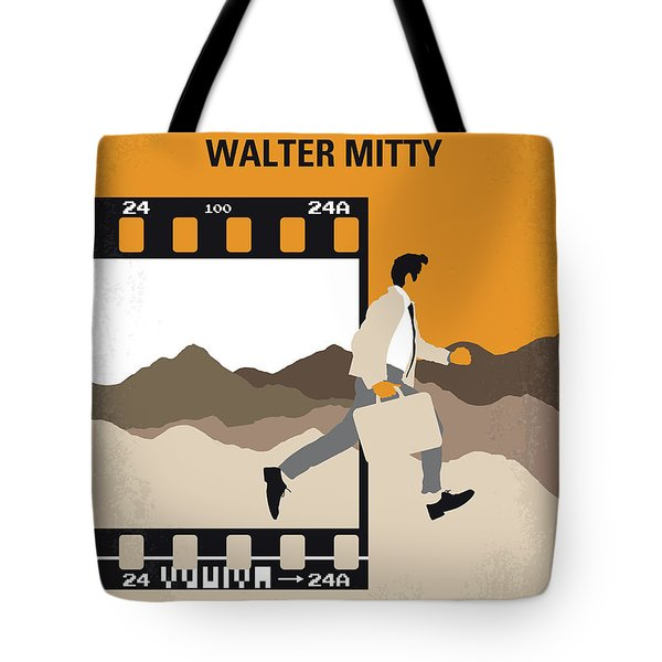 No806 My The Secret Life Of Walter Mitty Minimal Movie Poster Tote Bag