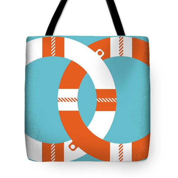 No815 My Overboard Minimal Movie Poster Tote Bag