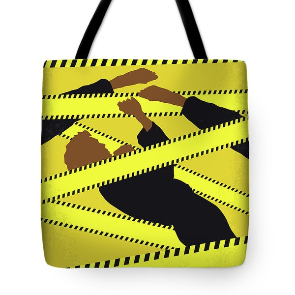No816 My Rush Hour Minimal Movie Poster Tote Bag