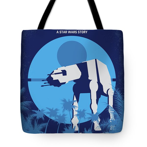 No819 My Rogue One Minimal Movie Poster Tote Bag