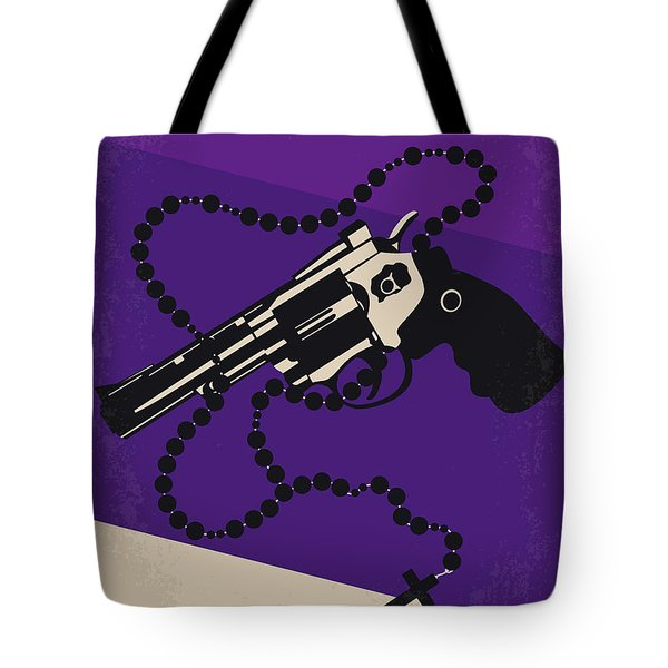 No823 My Mean Streets Minimal Movie Poster Tote Bag