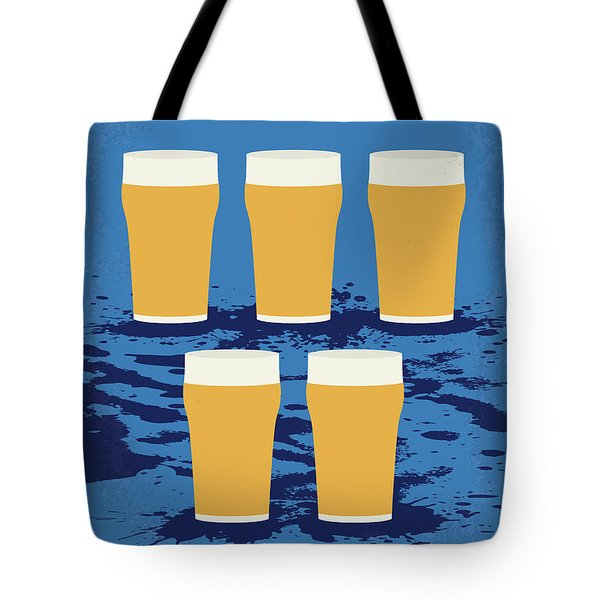 No843 My The Worlds End Minimal Movie Poster Tote Bag