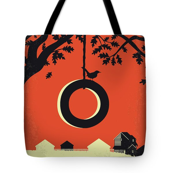 No844 My To Kill A Mockingbird Minimal Movie Poster Tote Bag