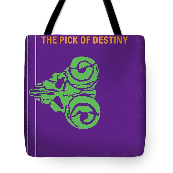 No863 My The Pick Of Destiny Minimal Movie Poster Tote Bag