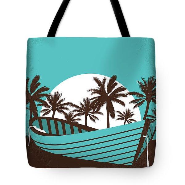 No871 My The Blue Lagoon Minimal Movie Poster Tote Bag