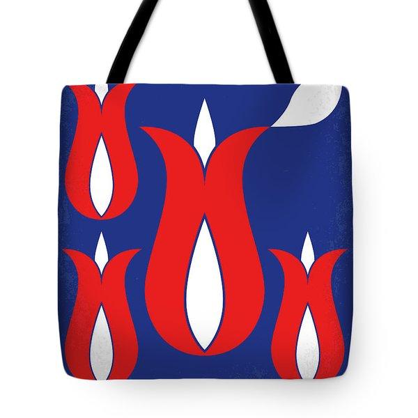 No875 My Tulip Fever Minimal Movie Poster Tote Bag
