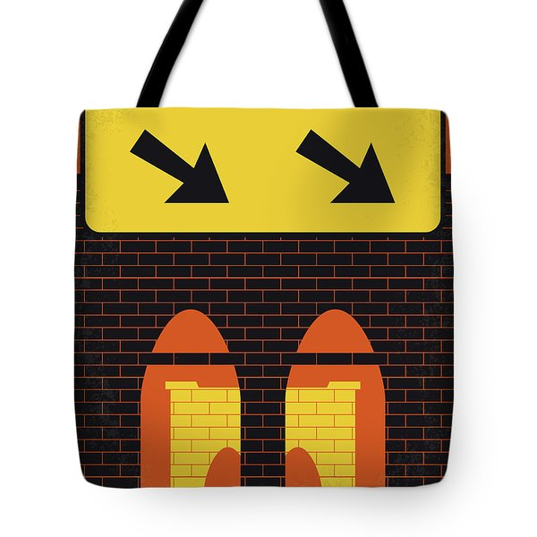 No879 My Last Exit To Brooklyn Minimal Movie Poster Tote Bag