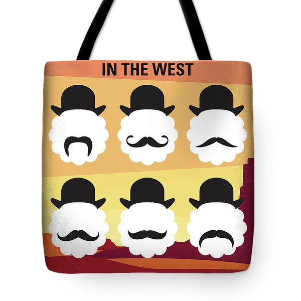 No890 My A Million Ways To Die In The West Minimal Movie Poster Tote Bag