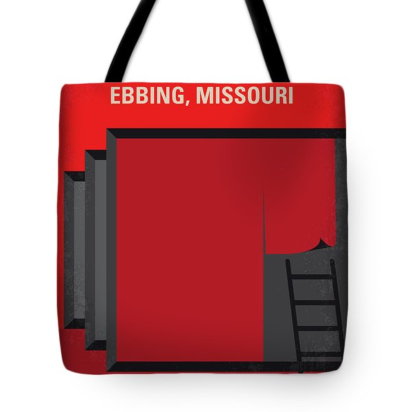 No900 My Three Billboards Minimal Movie Poster Tote Bag