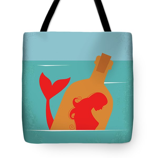 No925 My The Rum Diary Minimal Movie Poster Tote Bag