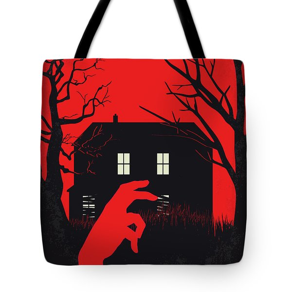 No935 My Night Of The Living Dead Minimal Movie Poster Tote Bag