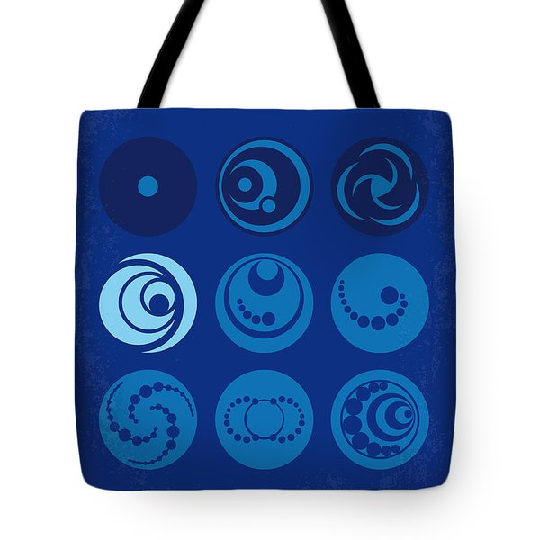 No937 My Am Number Four Minimal Movie Poster Tote Bag