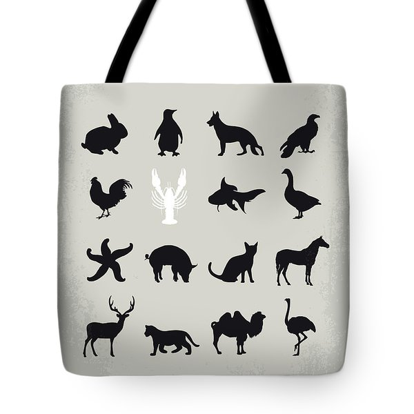 No939 My The Lobster Minimal Movie Poster Tote Bag