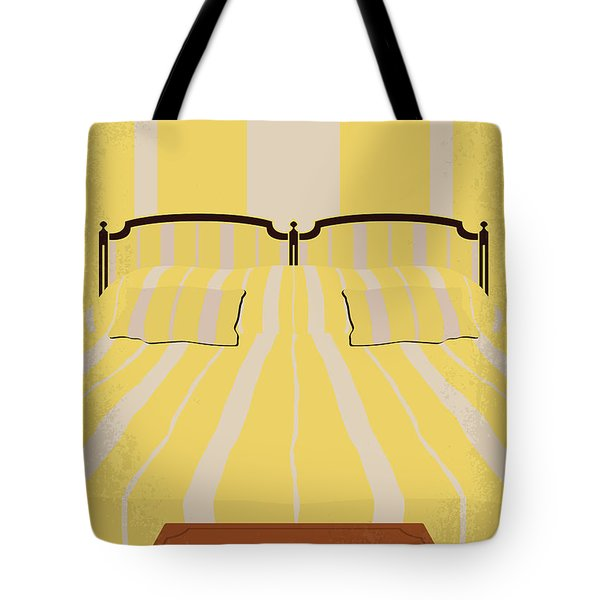 No943 My Hotel Chevalier Minimal Movie Poster Tote Bag