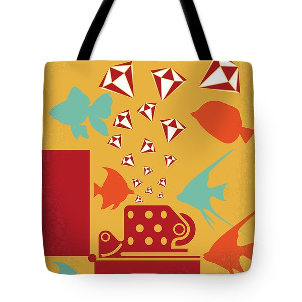 No953 My Out Of Sight Minimal Movie Poster Tote Bag