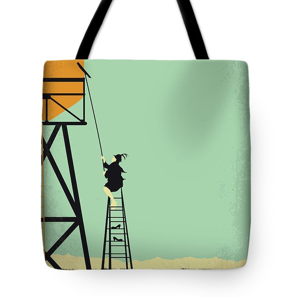 No964 My Bagdad Cafe Minimal Movie Poster Tote Bag
