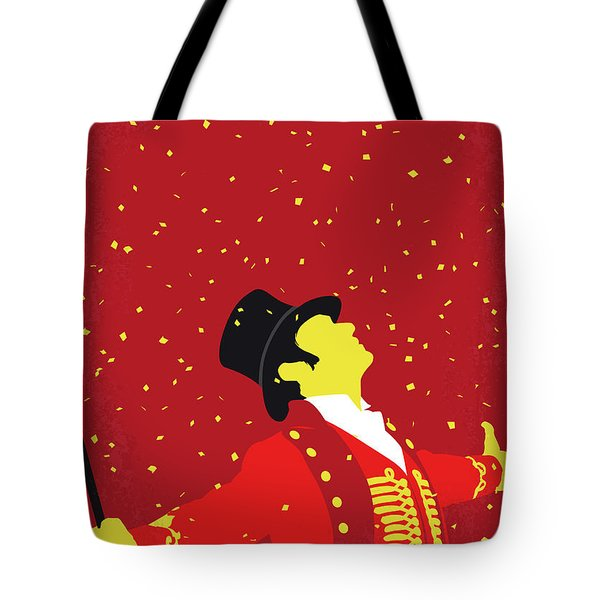 No965 My The Greatest Showman Minimal Movie Poster Tote Bag