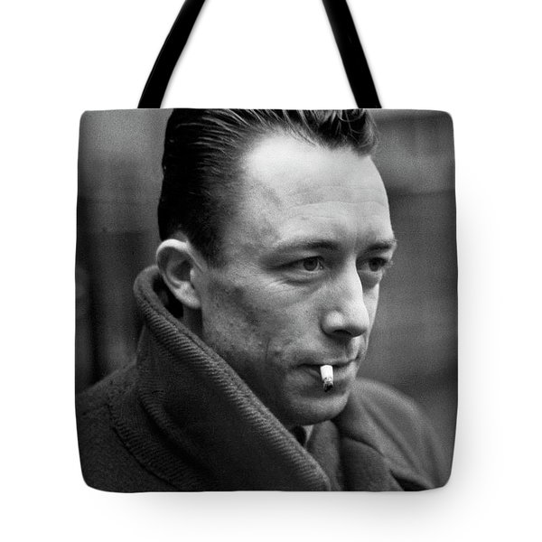 Nobel Prize Winning Writer Albert Camus Paris, France, 1944 -2015 Tote Bag