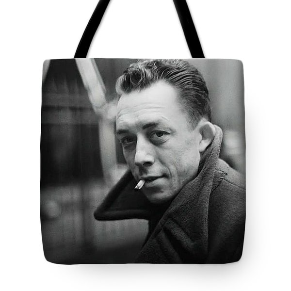 Nobel Prize Winning Writer Albert Camus  Unknown Date Or Photographer - 2015           Tote Bag