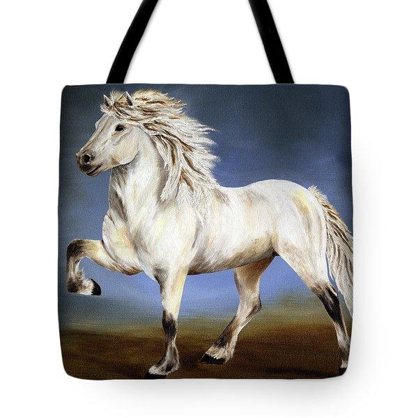 Nobility  Icelandic Horse Tote Bag