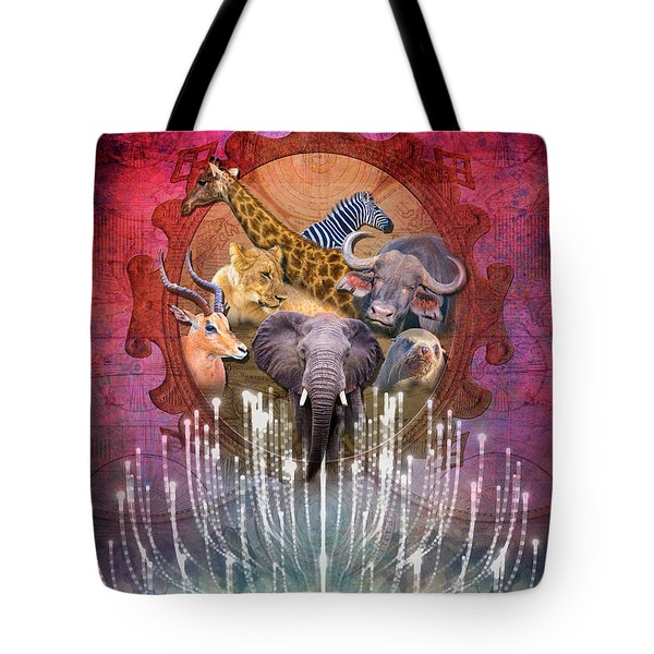 Noble Creatures Tote Bag