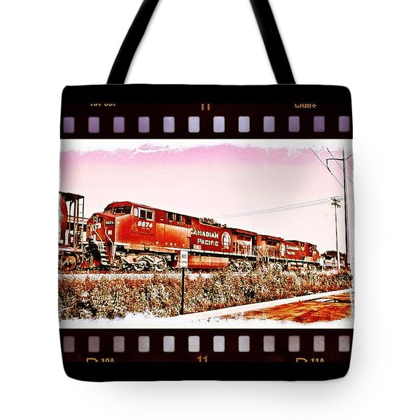 Nobody Cares About The Railroads Tote Bag