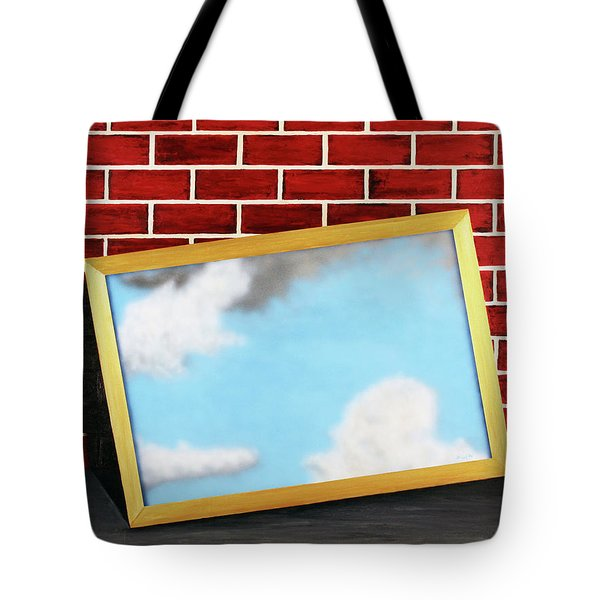 Tote Bag featuring the painting Nobody Noticed Part II by Thomas Blood