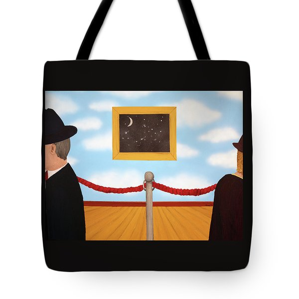 Nobody Noticed Tote Bag by Thomas Blood