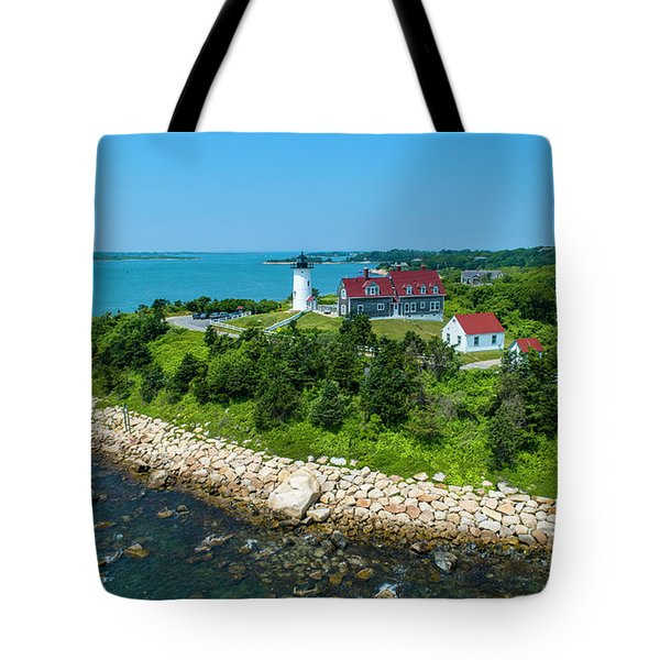 Nobska Lighthouse Tote Bag