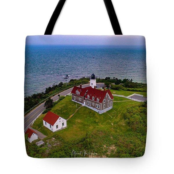 Nobska Point Lighthouse Tote Bag