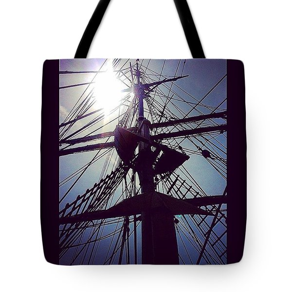 Mast In The Sun  Tote Bag