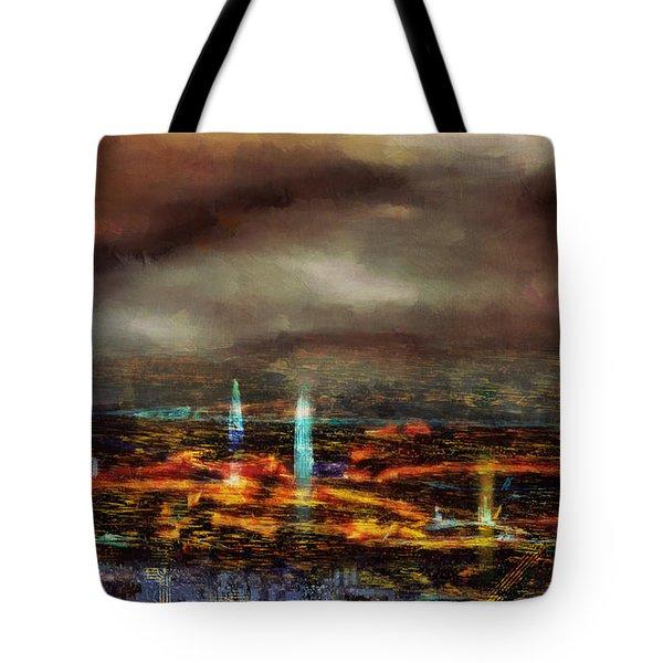 Nocturnal Impression Tote Bag