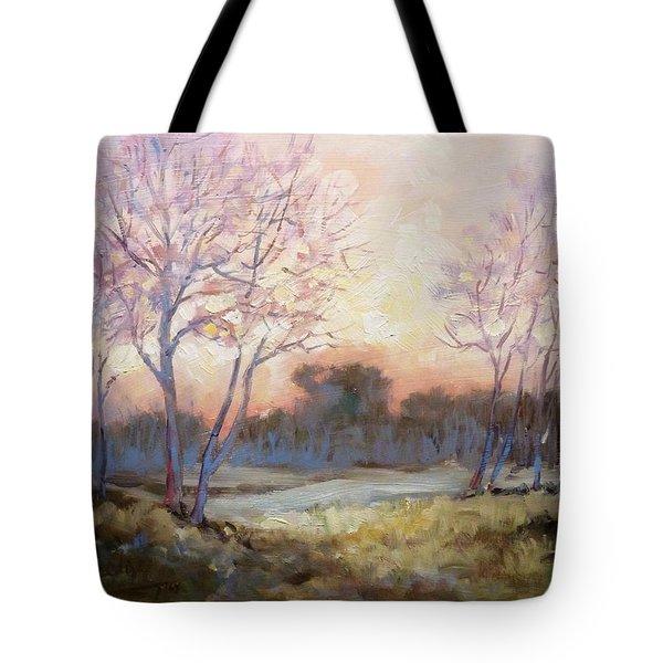 Nocturnal Landscape Tote Bag