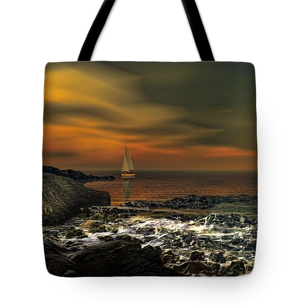 Nocturnal Tranquility Tote Bag by Lourry Legarde
