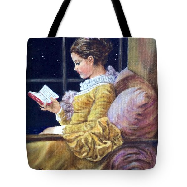 Nocturne Inspired By Fragonard Tote Bag