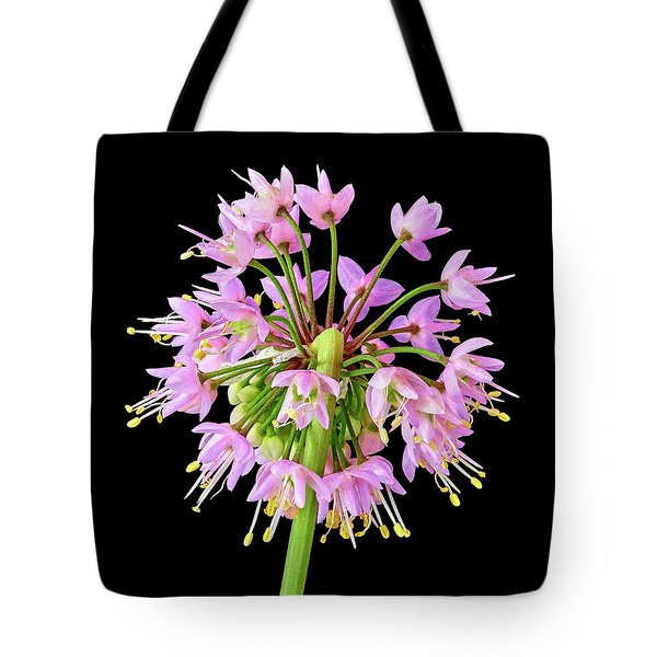 Nodding Wild Onion Tote Bag
