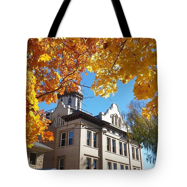 A No-filter Fall Tote Bag