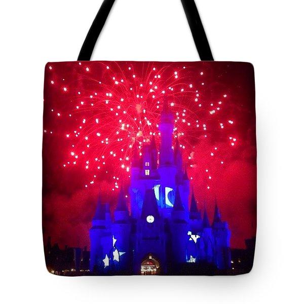 The Sorcerors Castle  Tote Bag