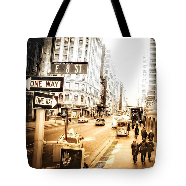 Tote Bag featuring the photograph Noho by Helge